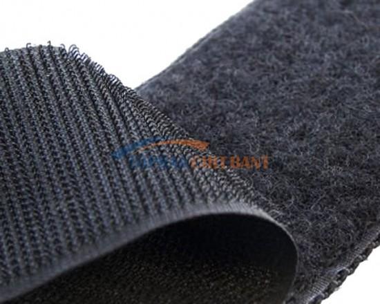 Standard Hook & Loop Black Color Roll